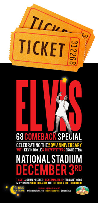 Tickets for Elvis 68 Comeback Special Show
